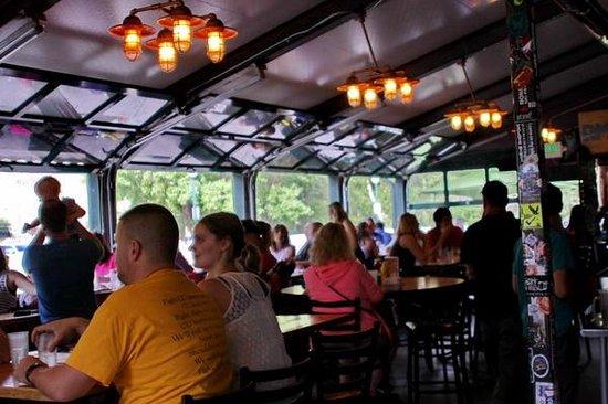 Boathouse Cantina : Main dining area