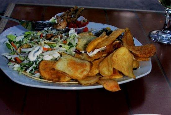 Boathouse Cantina : Baja Tacos with mahi mahi