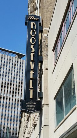 The Roosevelt New Orleans, A Waldorf Astoria Hotel: Loved this historic hotel