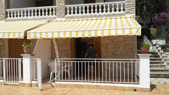 Bonsol Lloret: terrasse