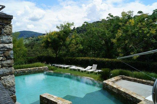 Eden Rock Resort: vue de la terrasse
