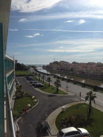 Uappala Hotel Viareggio: view from our room
