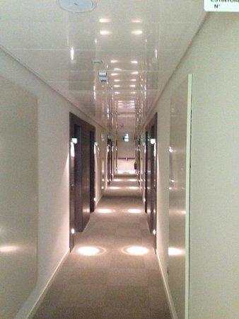 Uappala Hotel Viareggio: the hallway to our room