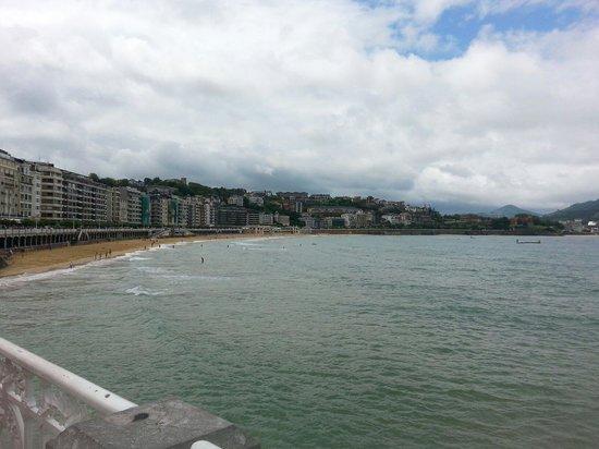 La Concha Beach: La Concha