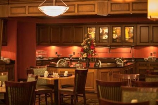 Decatur Conference Center and Hotel: Fireside Grill Buffet Area