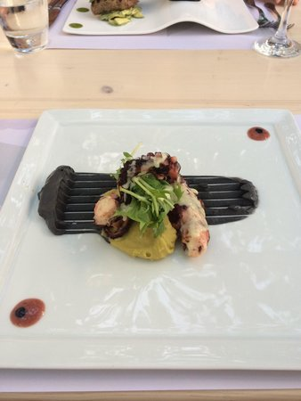M-eating: Octopus with tarama