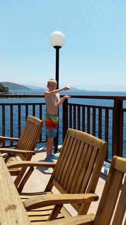 Pine Bay Holiday Resort: View from panama bar