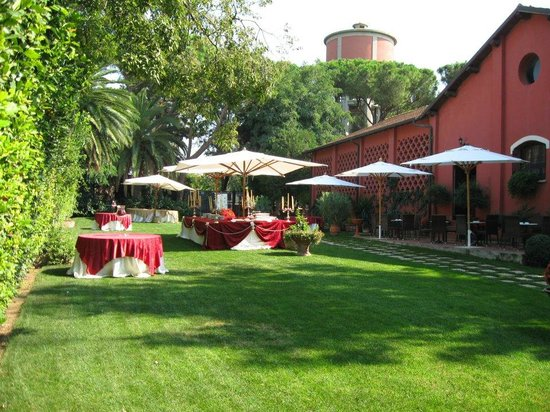 I giardini picture of scuderie san carlo non il solito ristorante rome tripadvisor - I giardini di marzo ristorante roma ...