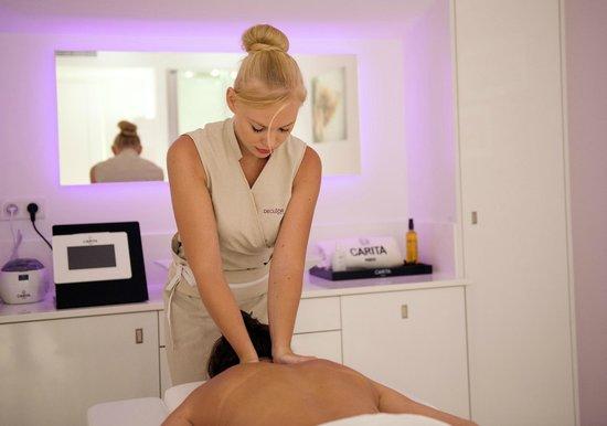 BEST WESTERN Cannes Riviera & Spa: carita treatment
