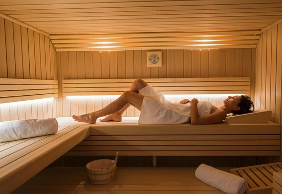 BEST WESTERN Cannes Riviera & Spa: sauna