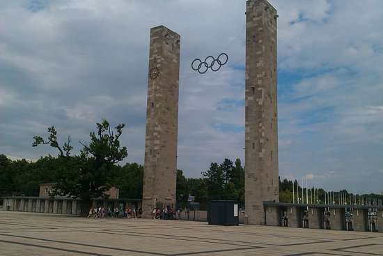 Olympiastadion: Entrance