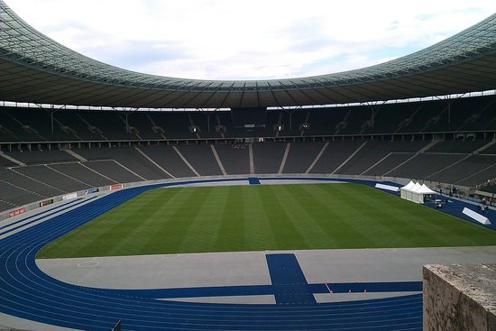 Olympiastadion: Inside the stadium