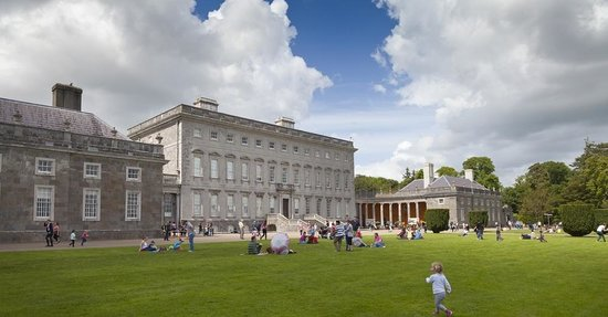 Castletown House: Front lawn, summer 2014