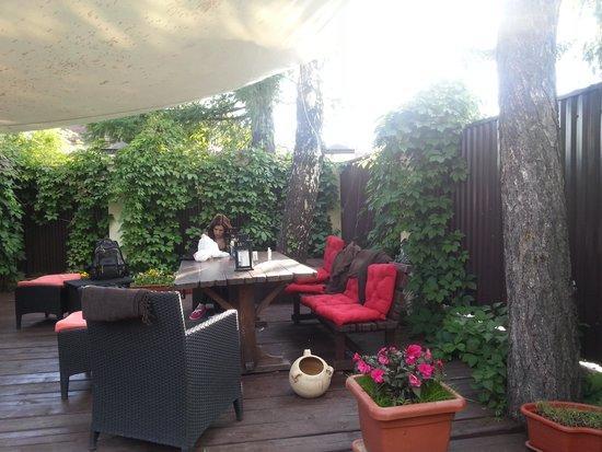 Atlanta Sheremetyevo Hotel: garden