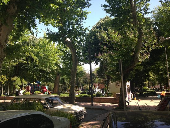 Ottoman Hotel Park : Nice park, just outside the hotel
