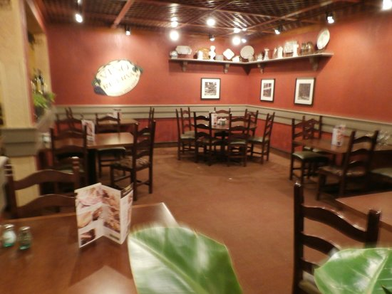 Peach chicken and minestrone picture of olive garden - Olive garden reservations policy ...