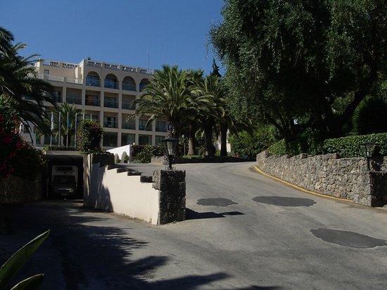 MarBella Corfu Hotel : entrée hôtel