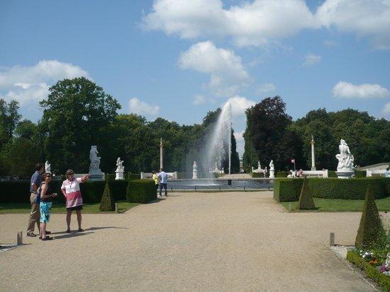 Parc de Sanssouci : Main park avenue