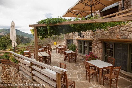Pritanio Guesthouse : Εστιατόριο