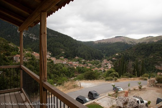 Pritanio Guesthouse: Θέα