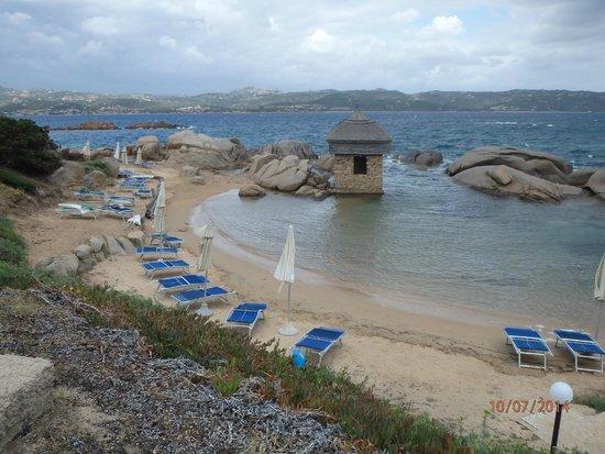 Club Village Forte Cappellini: Vue d'une partie de la plage
