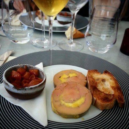 Auberge les Vignes : Dodine de foie gras