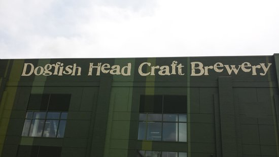 Dogfish Head Craft Brewery : Main Building