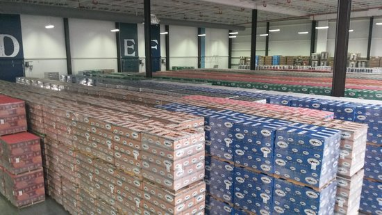 Dogfish Head Craft Brewery : Warehouse 2