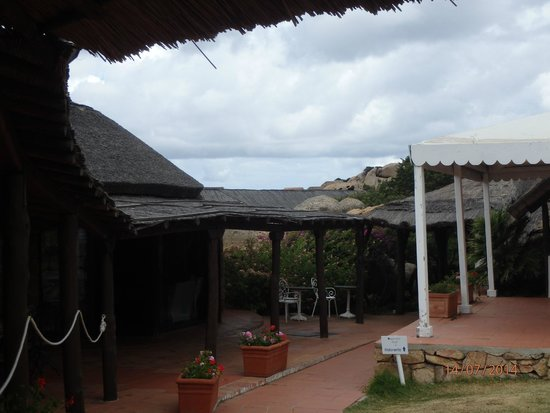 Club Village Forte Cappellini : Vue sur la réception