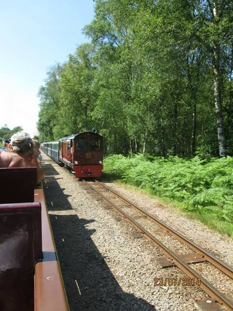 Ravenglass and Eskdale Railway: A diesel engine