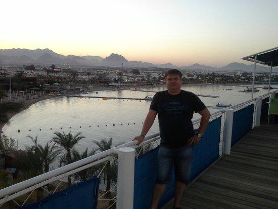 Lido Sharm Hotel: вид на Наама бей...