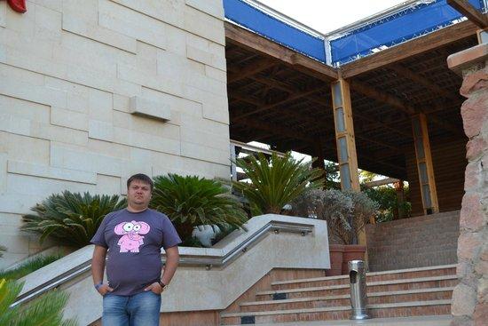 Lido Sharm Hotel: вход