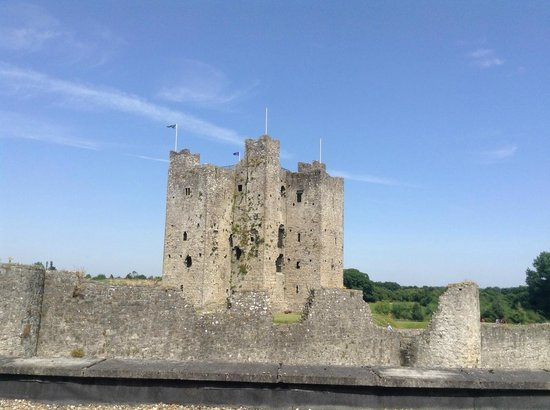 Trim Castle Hotel: What a view!