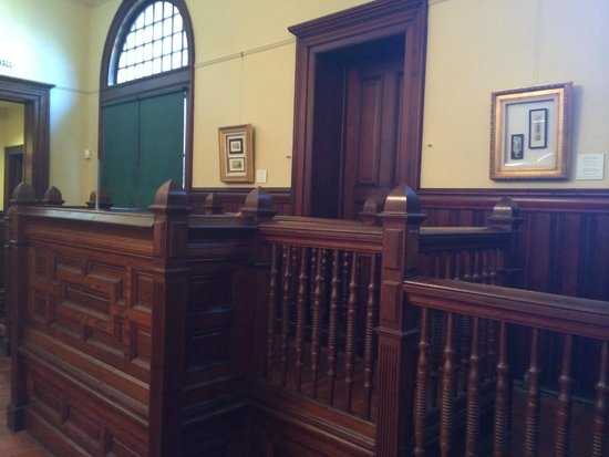 Jefferson Museum of Art & History: original courthouse