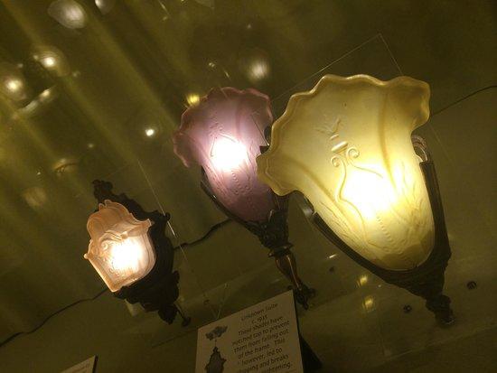 Kelly Art Deco Light Museum: sconces