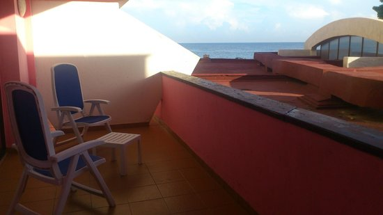 Cubanacan Boutique Chateau Miramar: view from room - balcony