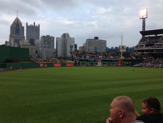 PNC Park : View from our seats