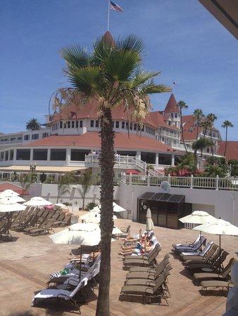 Hotel del Coronado: view