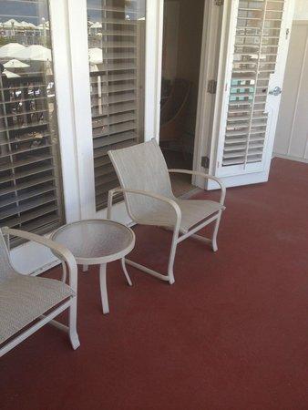 Hotel del Coronado: balcony