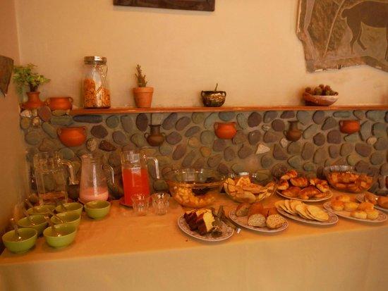Hotel Munay : desayuno