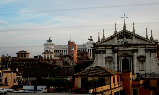 Colonna Palace Hotel : View from the rooftop