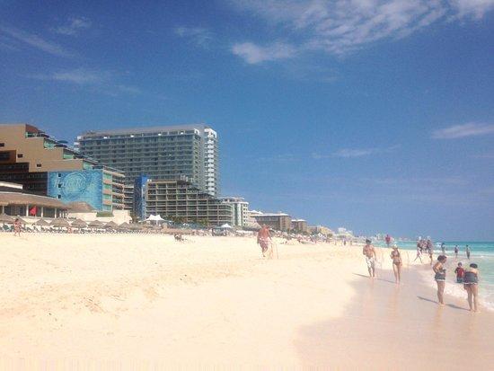 Hard Rock Hotel Cancun: playa