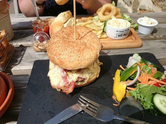 The Crown: Burger was superb
