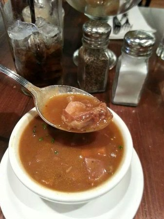 Oyster House: Red Snapper Turtle Soup