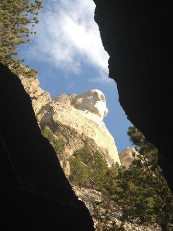 Mount Rushmore National Memorial : Neat views around every corner