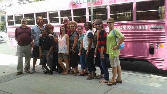 NashTrash Tours: Our office outing with our illustrious hosts!