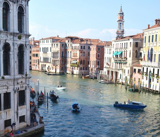 Gran Canal: Venice, Italy - June 2014