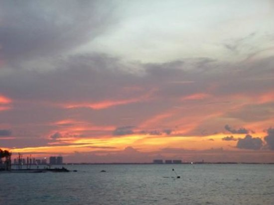 Mocambo: sunset