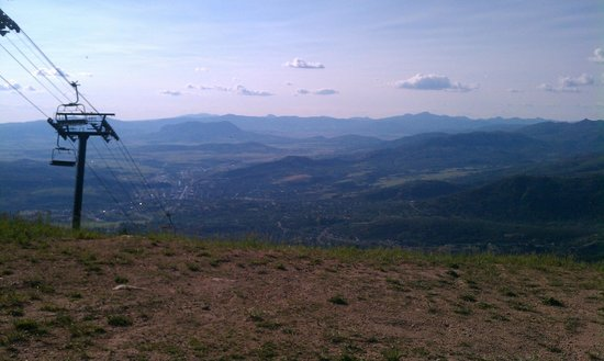 Steamboat Gondola: From the slopes in July