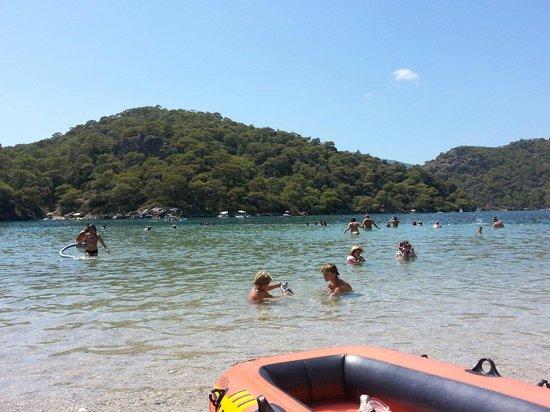 Strand von Ölüdeniz (Blaue Lagune): Beautiful Blue lagoon